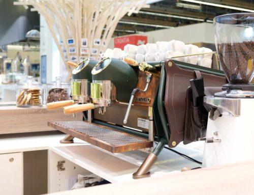 Café Pressoway auf der ISH´19 in Frankfurt