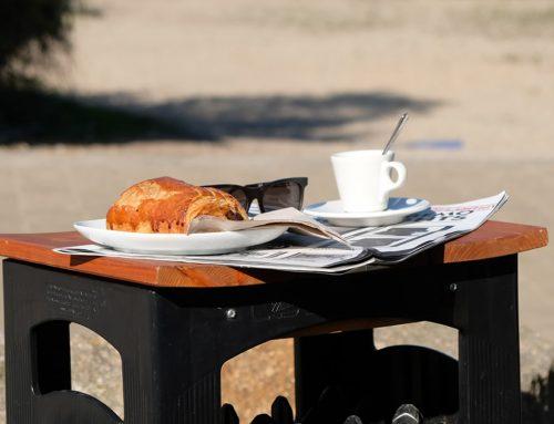 Frühstück im Café am Cospudener See